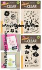Hero Arts Poly Clear COLOR LAYERING Stamp Set Large Orchid For You Flowers