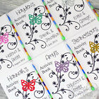 Personalised Childrens Wedding Activity Favour Book Gift Pack Bag Party Butterfl