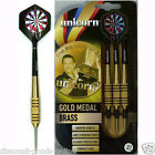 GARY ANDERSON UNICORN GOLD BRASS DARTS GOOD CHOICE OF WEIGHTS