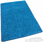 Marina Blue Indoor-Outdoor Artificial Grass Turf Area Rug with Marine Backing