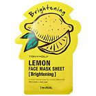 face brightening mask - TonyMoly I'm Real Lemon Face Mask Sheet-Brightening - FREE Shipping, from CA, US
