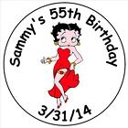 120 Betty Boop Kisses labels - Party Favors - Kisses Labels $3.79 USD on eBay