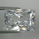 IF Baguette Princess Colorles White (D-F) Russian Lab Made Diamond AAAAA SUN