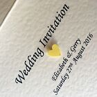 Personalised Wedding Invitation Sample