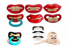 Funny Dummy Dummies Pacifiers Baby Novelty Joke Maternity Toddler Child UK POST