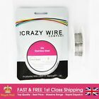 0.36mm (27 AWG) - Comp SS316 (Marine Grade Stainless Steel) Wire - 7.57 ohms/m