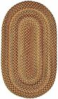 Capel Rugs Manchester Wool Country Casual Braided Area Rug/Golden Hues #100