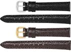 Ladies Long Genuine Lizard Leather Watch Strap Band
