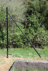 End Post with Brace for Deer Fencing – Choose height 8 ft...