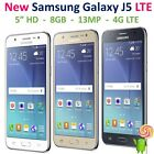 Samsung Galaxy J5 4G LTE, 8GB, 13MP GSM Factory Unlocked Smartphone J500M