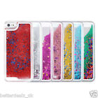 Glitter Star Case Cover Back For iPhone 5 5S + Tempered Glass Screen Protector