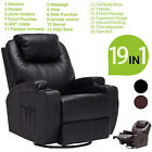 Kyпить Electric Body Massage Chair Recliner Sofa Ergonomic Lounge Swivel Heated Control на еВаy.соm