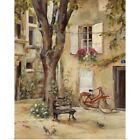 Announcement Print Wall Art entitled Provence Village I