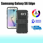 Premium Heavy Duty Shock Proof Tough Cover Case for Samsung Galaxy S6 Edge