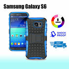 Premium Heavy Duty Shock Proof Tough Cover Case for Samsung Galaxy S6