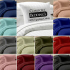 Extra Deep Pocket Soft UK Emperor Size 1200TC Fitted / Bottom Sheet In 36 Colors