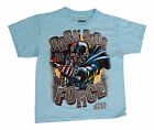 NEW! Star Wars Light Blue Darth Vader Dark Side Boys Shirt Kids Youth Sizes $8.88 USD on eBay