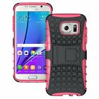 Samsung Galaxy S7 Edge Dual Layer Shockproof Cover Hybrid Case with Kickstand