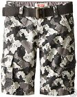Levi's Belted Cargo Shorts Boys 10, 12, 18 Msrp 42.00 New With Tags