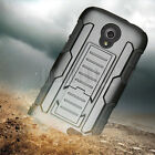 Armor Shockproof Hard Holster Case Cover For ZTE Stratos Allstar LTE Z818L Z819C