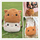 Kawaii Girls Cute Smile Cat Soft Plush Doll Lolita Handbag Shoulder Bag Hobo Bag