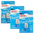 8GB 16GB 32GB TOSHIBA WIFI SDHC Flash Air Wireless LAN Class 10 SD Memory Card