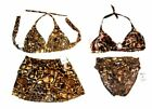 Sunsets Safari Brown Bikini Swimsuits and Swimsuit Separates NWT