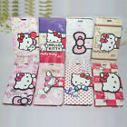 HelloKitty Cartoon Leather Wallet Case Cove For Samsung Galaxy Note 3 & Note 4