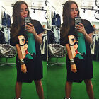 Sexy Women's Summer Casual Party Short Mini Dress Loose Long Tops T-shirt Blouse