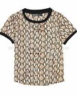 Tumble n Dry Junior Girls' Snake Print Top Mimi, Sizes 6-16
