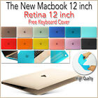 Crystal Matte Frosted Snap-On Hard Cover Case for Apple MACBOOK RETINA 12-INCH