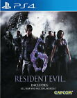 New Sony PlayStation 4 Games Resident Evil 6 HK Version English Subtitle
