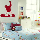 Snowboarder - Sport Wall Sticker / Removable Decal / Sport Wall Transfer SP11