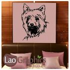 Yorkshire Terrier Dog Wall Stickers / Vinyl Art Decal / Dog Wall Transfers ne62
