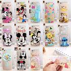 Disney Cartoon Silicone Case Cover For iPhone 5 6 6S 7 Plus Samsung Models C0009