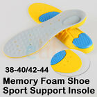 Orthotic Heel Support Soft Pain Relief Memory Foam Sport Shoes Insole Insert pad