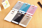 Luxury Bling Glitter Hard Plastic Shell Case Cover Skin For HTC One M7 M8 M9 A9