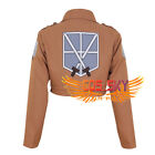 New Attack on Titan Shingeki no Kyojin Training Corps Jacket Cosplay Costume