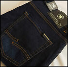 MENS DESIGNER STYLE Crosshatch DENIM STRETCH INDIGO JEANS SLIM FIT COLEMAN