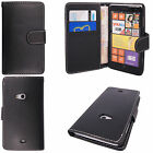 Luxury Genuine PU Leather Flip Case Wallet Cover Stand For NOKIA Mobile Phone