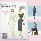 Butterick 5880 Sewing Pattern Misses'/Petite Retro Vintage Dress 1950's - Easy