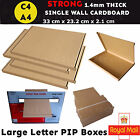 C4 A4  BOX LARGE LETTER STRONG CARDBOARD SHIPPING MAILING POSTAL PIP ROYAL MAIL