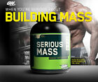 Optimum Nutrition ON SERIOUS MASS Weight Gainer 6 LB Protein Carbs