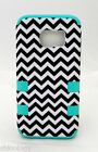 New For Samsung Galaxy S7 Hybrid Dual Layer Hard Cover Shockproof Case CHEVRON
