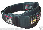"Gym Weight Lifting 6"" Wide Neoprene Double Belt for Men Back Lumber Support New"
