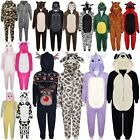 Kids Girls Boys Soft Fluffy Animal Monkey A2Z Onesie One Piece Halloween Costume
