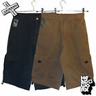 "HEADWORX 'COMBAT SHORTS' BOYS BROWN GREY 22"" 24"" 26"" WAIST SURF BNWT RRP £33"