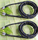Pair BLK-GLD COLOR Golden Plate Audiophile Hi-end Nakamichi Banana Speaker Cable