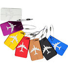 Aluminum Luggage Tag Travel Baggage Airplane Tag Name Address Label Tags FOUK