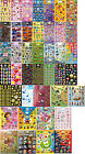 Character Cartoon Animals Smiley Faces Stickers. Large and Small Stickers. Craft